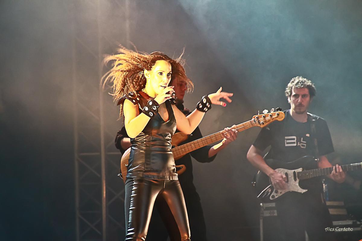 Malu en concierto de Bilbao Aste Nagusia