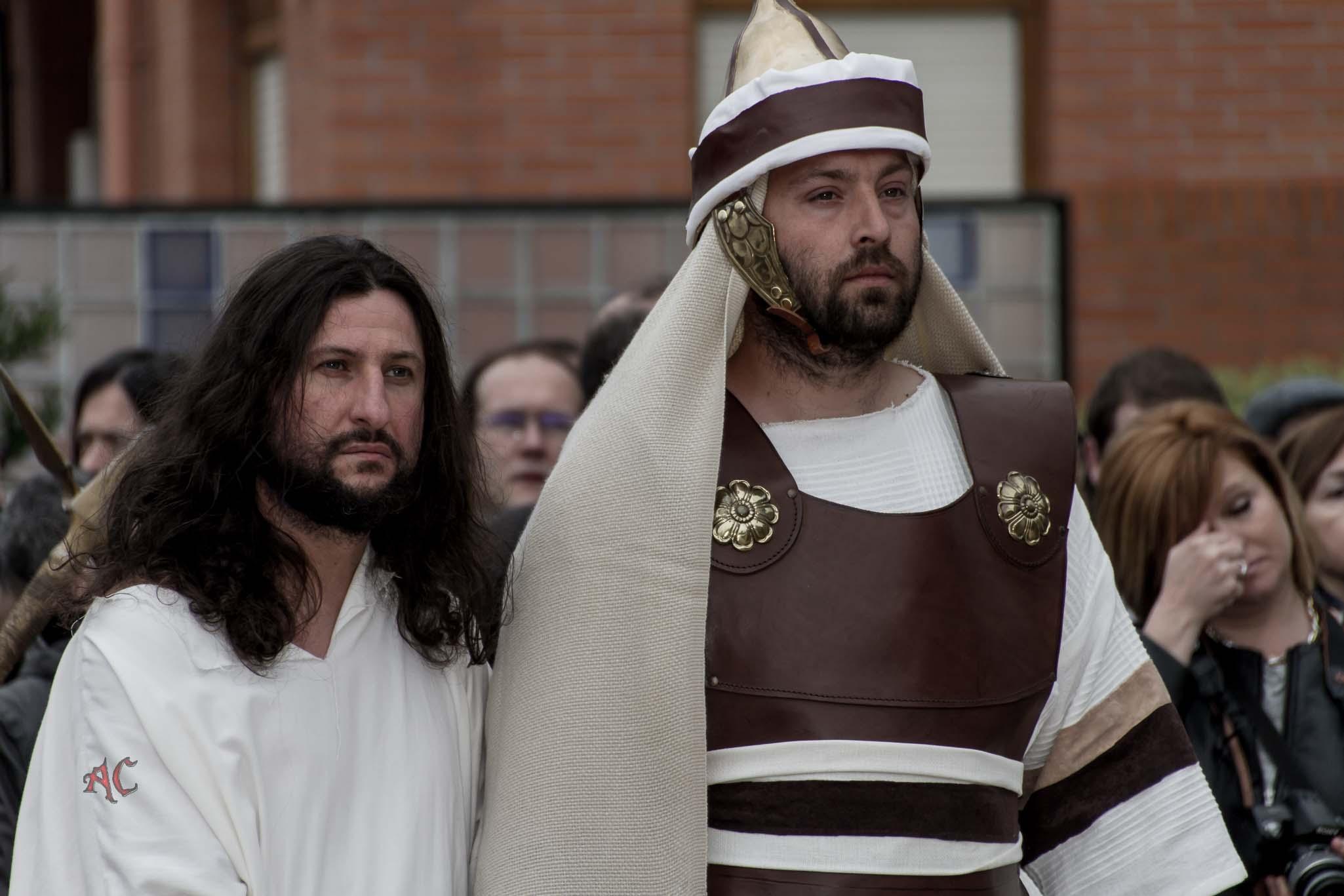 Pasion de Arkotza 2017, Via Crucis y Pasión Viviente