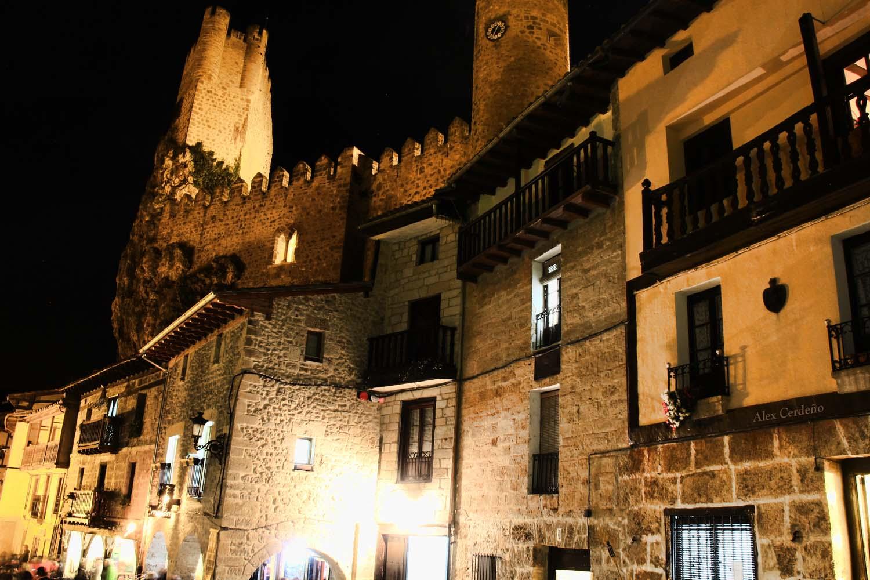 Calle de Frias, Burgos nocturna