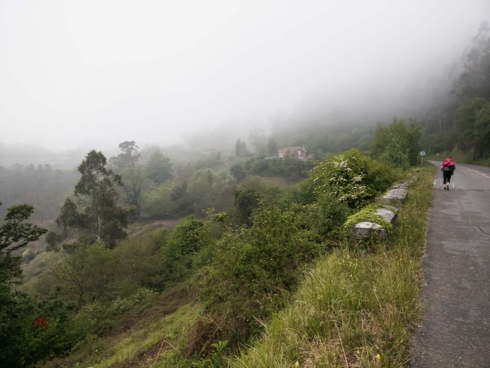 Terminacion del Camino del Salvador y Comienzo del Primitivo