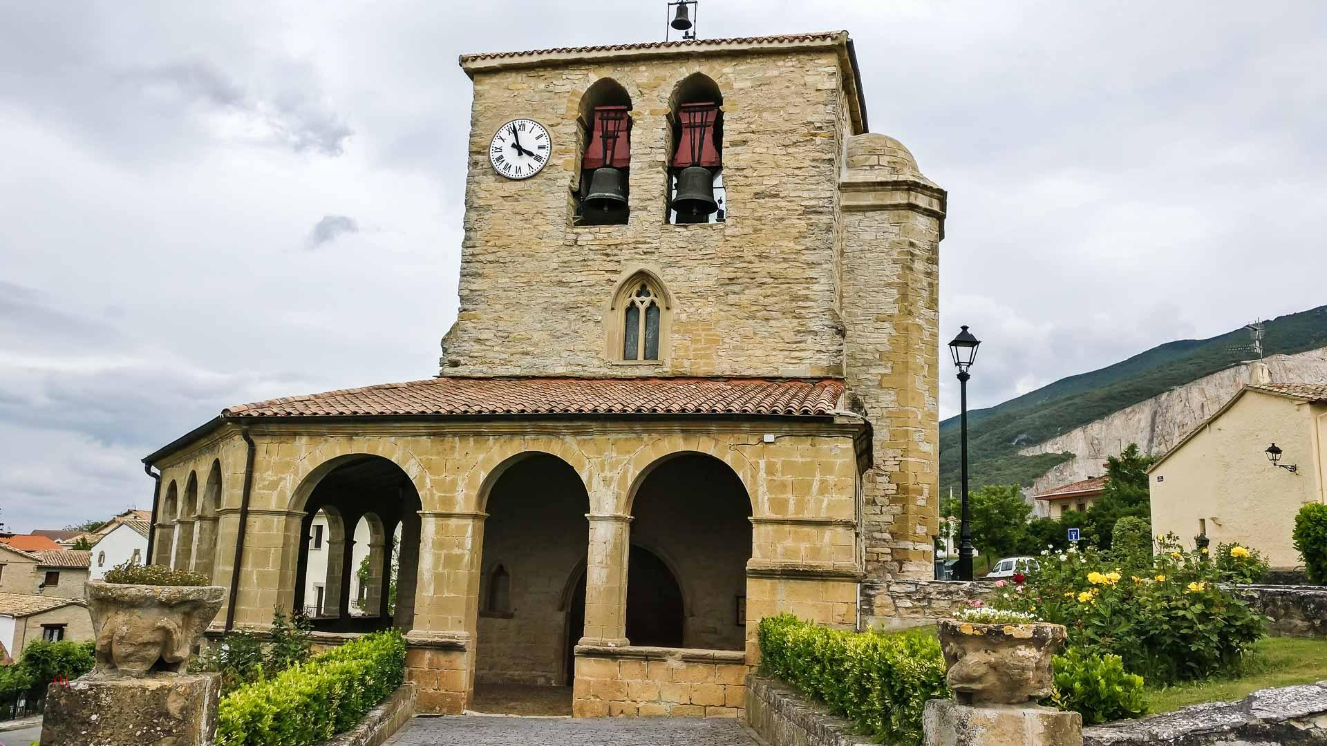 Monreal Tiebas, Camino Aragonés.
