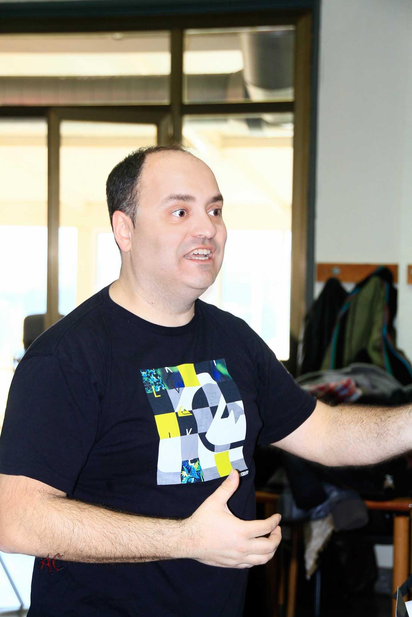 Fotografia de Ius Perez Director de Zirzira
