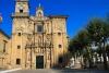 Fachada principal de la Iglesia de Santa María en Lourenza