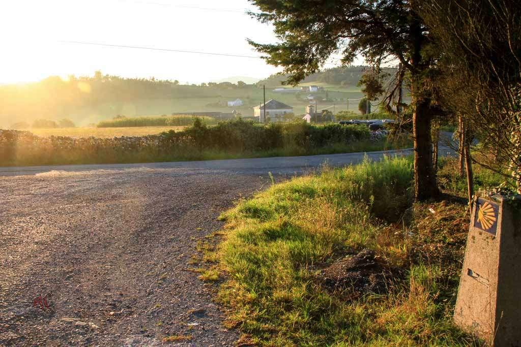 camino de Santiago Ribadeo Lourenza