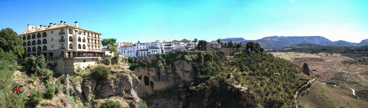 Panoramica de Ronda Malaga