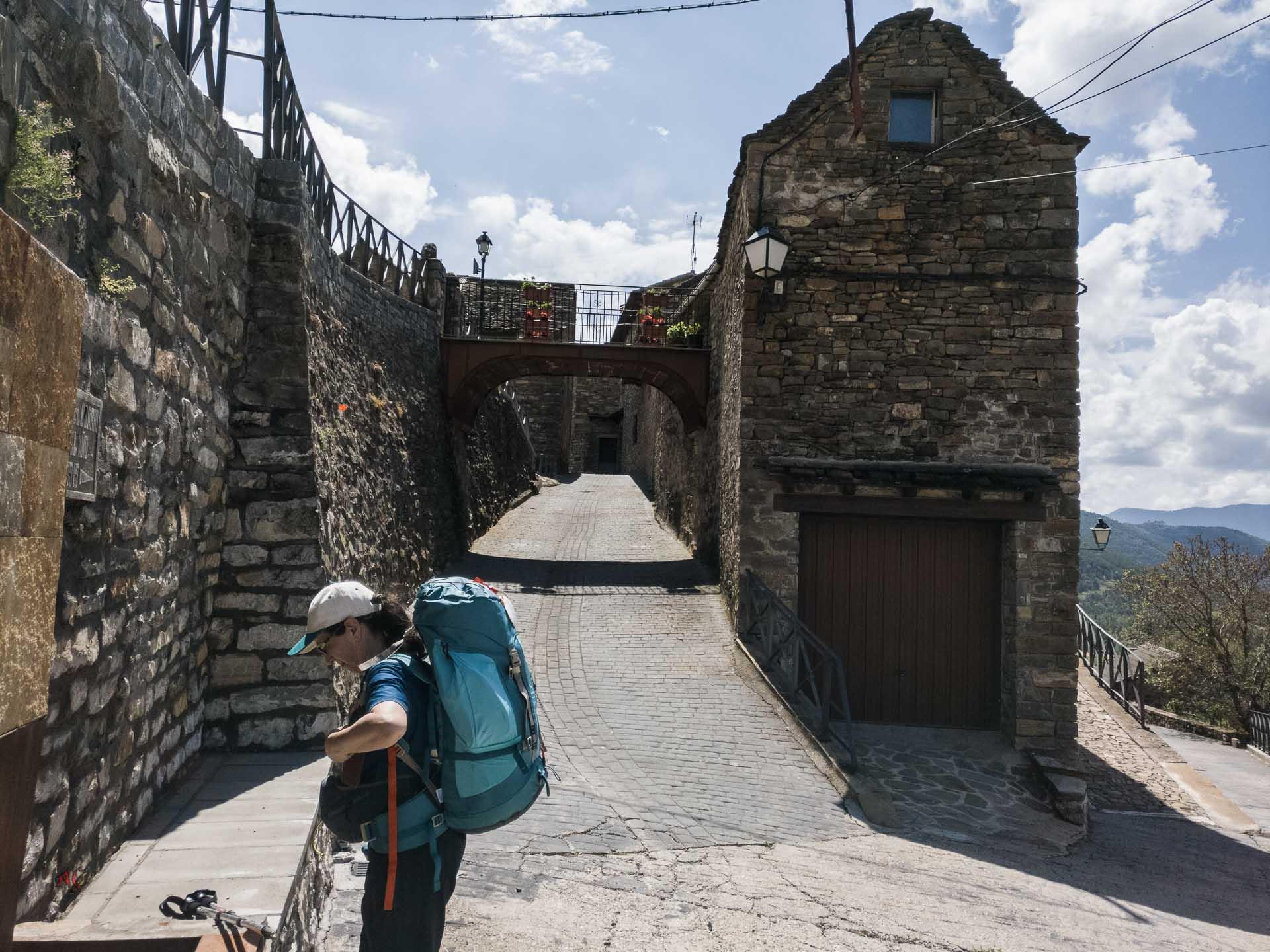 Galeria Fotografica de la Etapa del camino Aragones Somport a Jaca