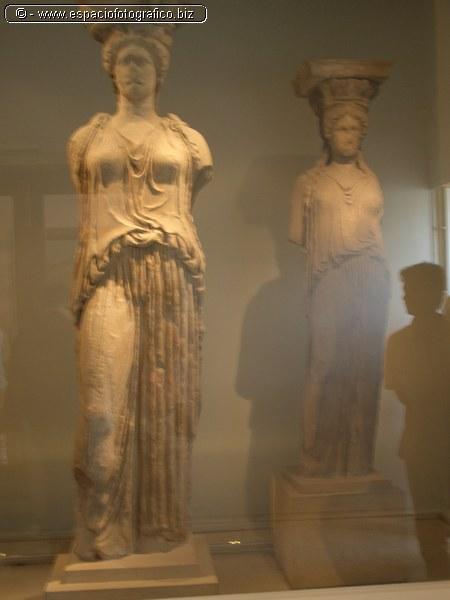 Cariatides del Museo de la Acropolis