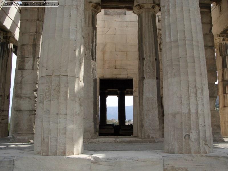 Detalles de columnas del Teseion