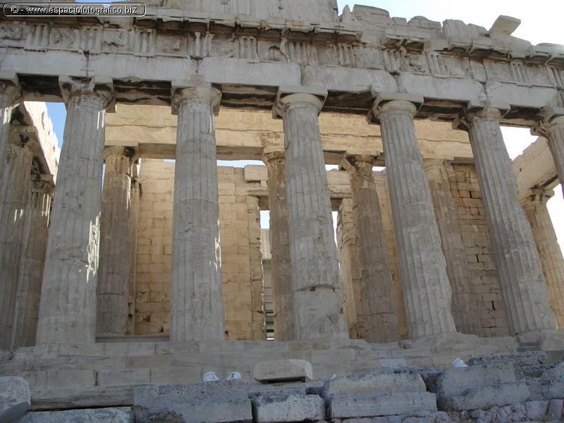 El Partenon Columnatas Meridionales