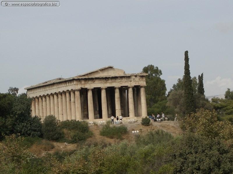 El Templo Teseion o Hefasteion