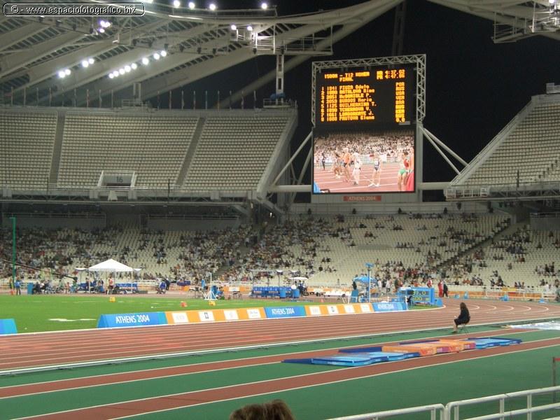 Estadio Olimpico de Atenas en las Olimpiadas de 2004