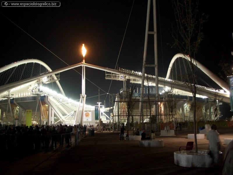 La llama Olimpica encendida