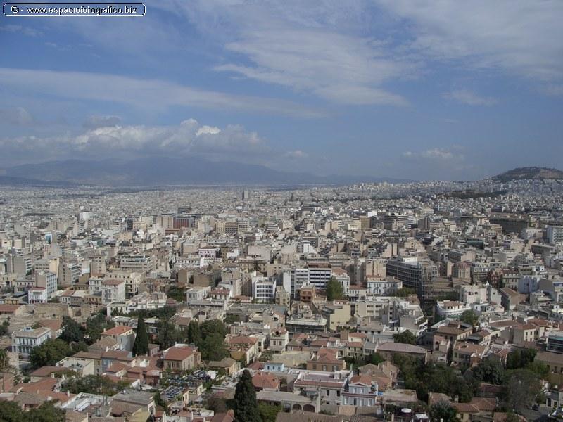 Panoramica de Atenas