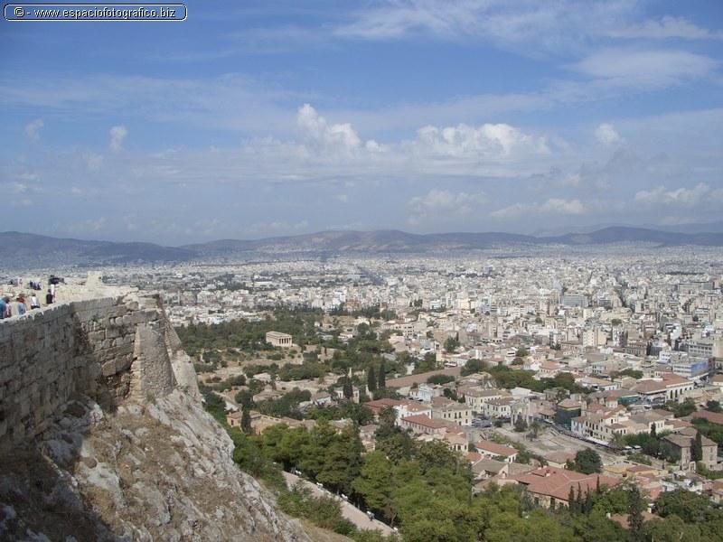 Panoramica desde La Acropolis