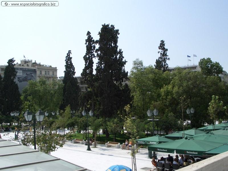 Plaza de la Constitucion en Atenas