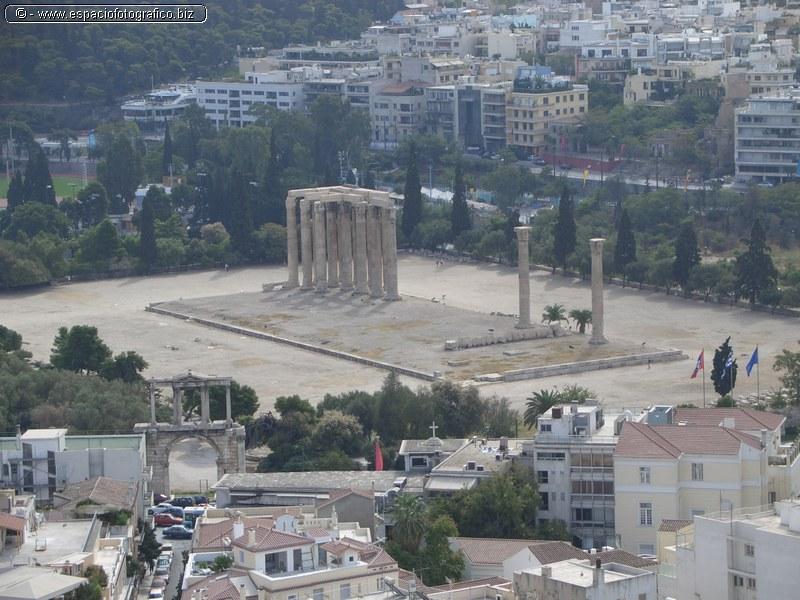 Templo de Zeus en Atenas