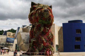 El Puppy en el Guggenheim