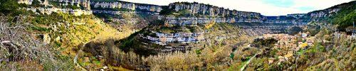 Panoramica de Orbaneja del Castillo