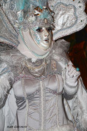 Mascaras en Carnaval de basauri
