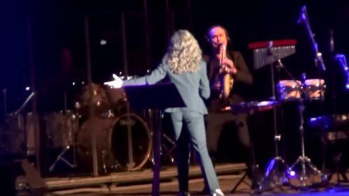 Ana Belen en concierto.