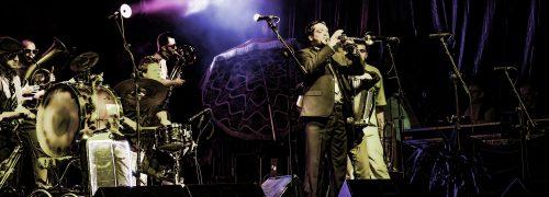 Actuacion de la Orquesta Internacional de  Vetex en la Aste Nagusia 2013 de Bilbao