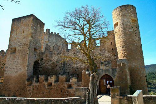 Vista general del Castillo de Frías