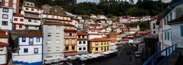 Panorámica de Cudillero Asturias