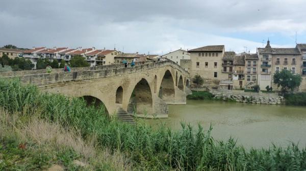 Puente en Puentelarreina Camino de Santiago camino Feances