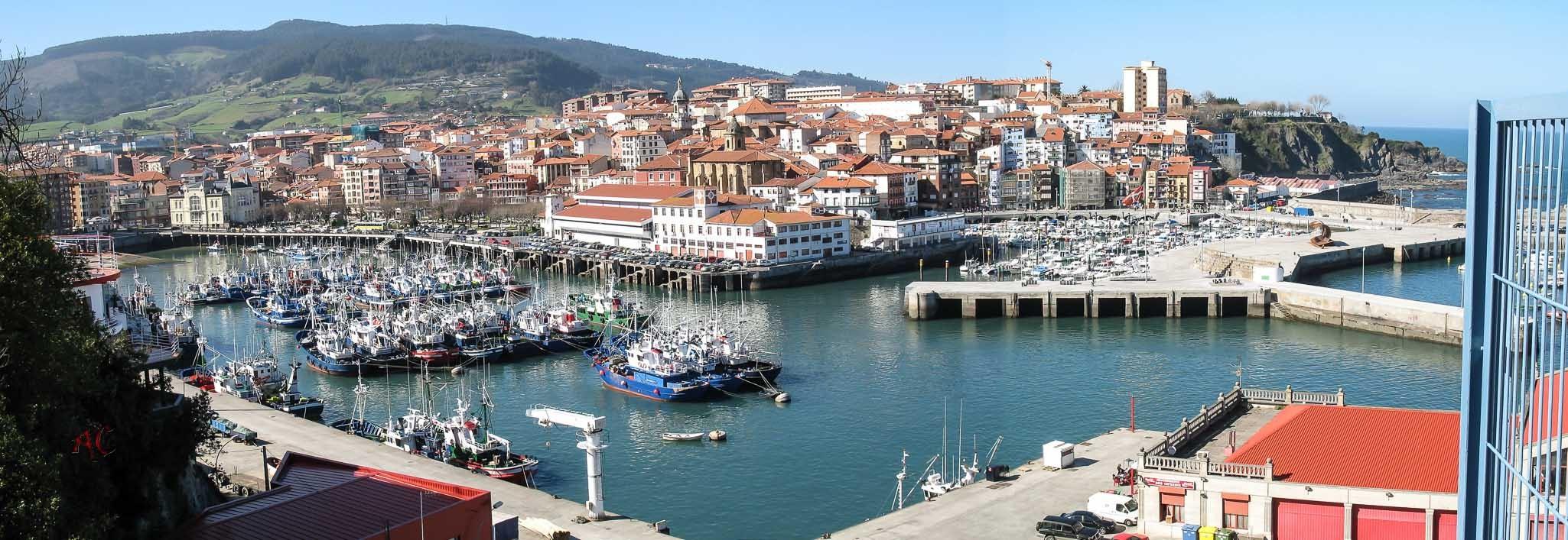 Panoramica del puerto de Bermeo