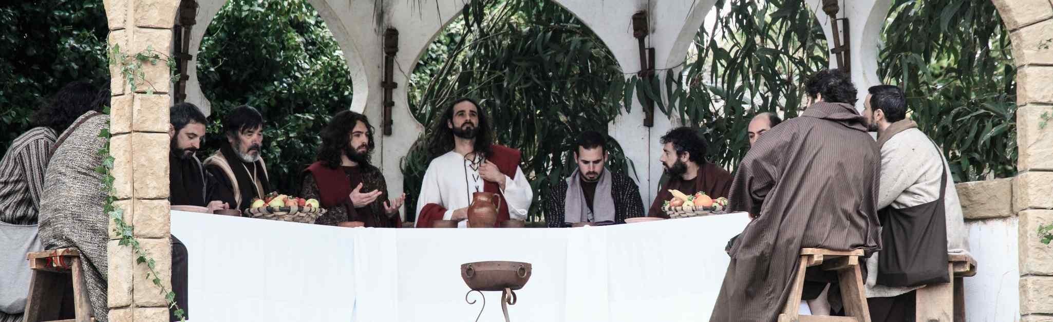 Pasion Viviente de Castro Ultima Cena