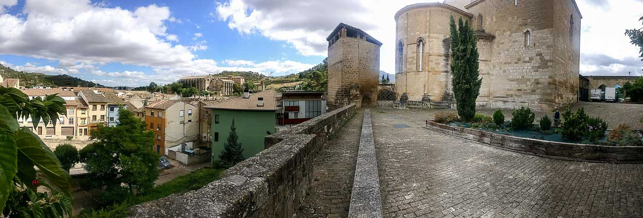 Panoramica en Estella