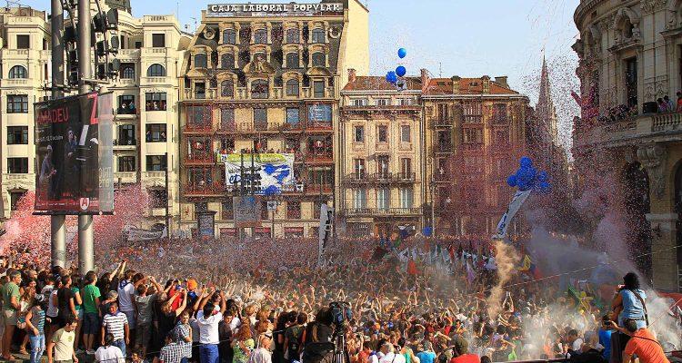 Txupin de la Aste nagusia de Bilbao 2012